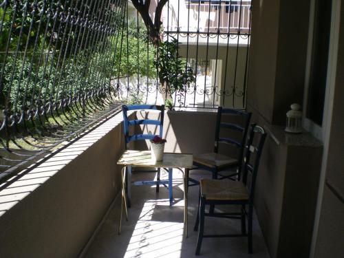 Un balcon sau o terasă la Konakli Apartments Izmir