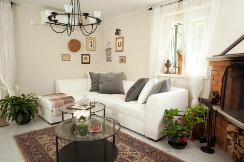A seating area at Apartment Mascarelli