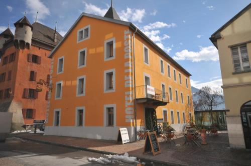 Hotel De La Poste Sierre