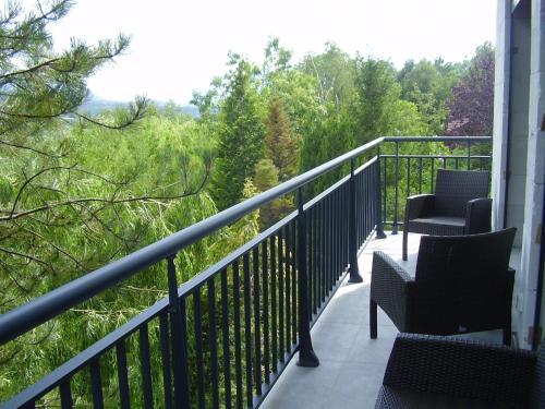Balcon ou terrasse dans l'établissement Villa Haute Savoie