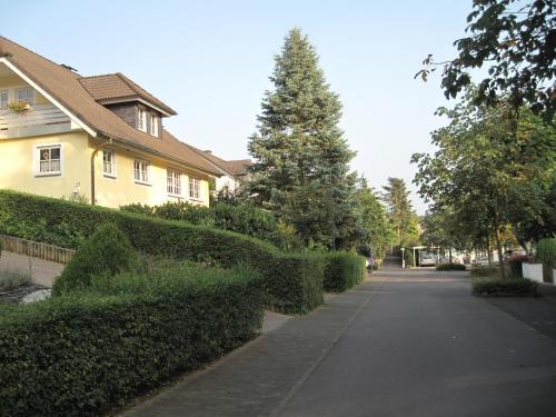 Een tuin van Apartment Lieserpfad-Wittlich