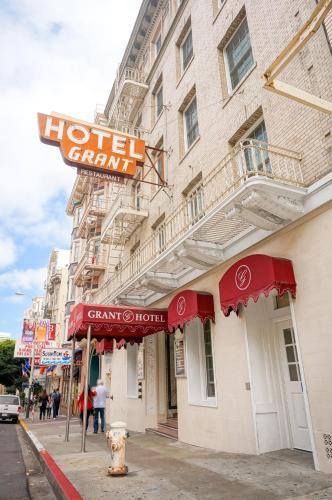 Afbeeldingsresultaat voor Grant Hotel (centrum San Francisco).