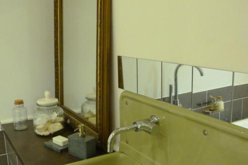 Salle de bains dans l'établissement 51 côté jardin