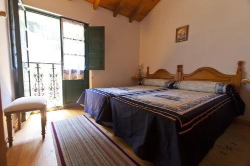 Cama o camas de una habitación en Casa Rural Camangu