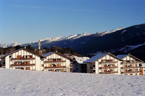 Residence Casa Cavalese in de winter