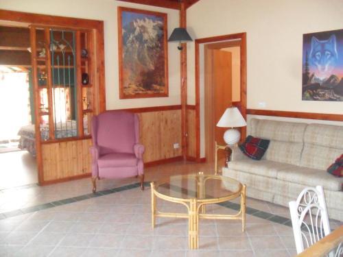 Area soggiorno di Giamia Villas