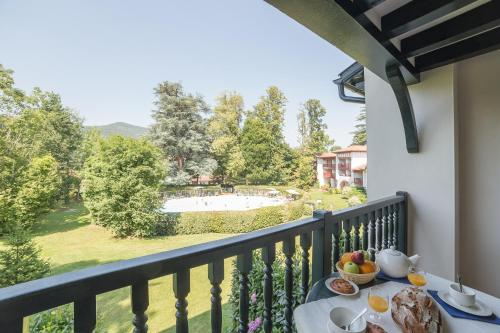 A balcony or terrace at Résidence Pierre & Vacances Le Parc D'Arradoy