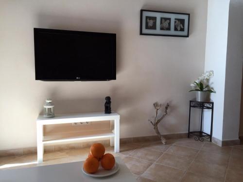 En TV eller et underholdningssystem på Ca na Francina