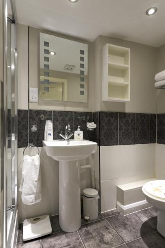 A bathroom at Number14brighton