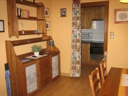 A kitchen or kitchenette at Arrabal de San Benito I