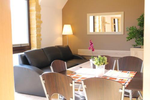 A seating area at Apartamenty Dom Bałtycki