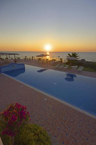 The swimming pool at or near Hotel Albatros