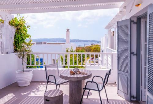 Balcone o terrazza di Milos Bay Suites