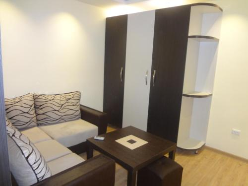 A seating area at Studio-Apartment Komitas