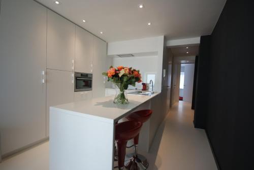 Cuisine ou kitchenette dans l'établissement Luxe Apartment Filine