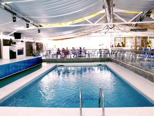The swimming pool at or near Benidorm Celebrations Pool Party Resort - Adults Only