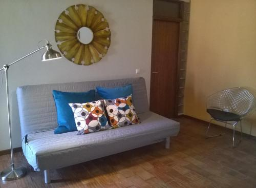A seating area at Alma N' Sleep