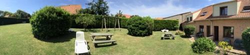 A garden outside La Capelette