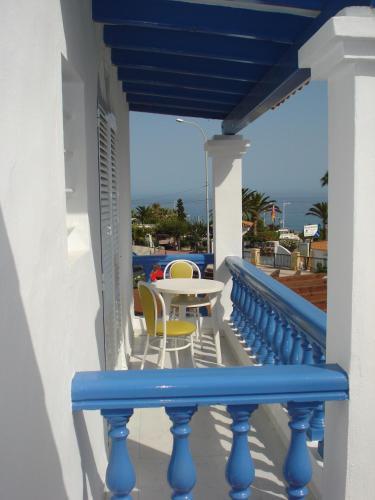 A balcony or terrace at Hostal Marazul