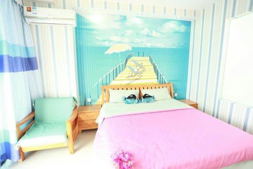 Sanya 1119 Theme Apartment