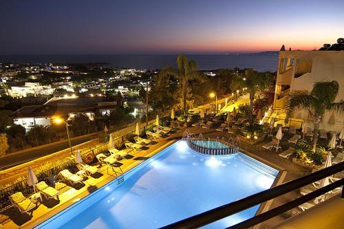 A view of the pool at Pefkos View Suites & Maisonette or nearby