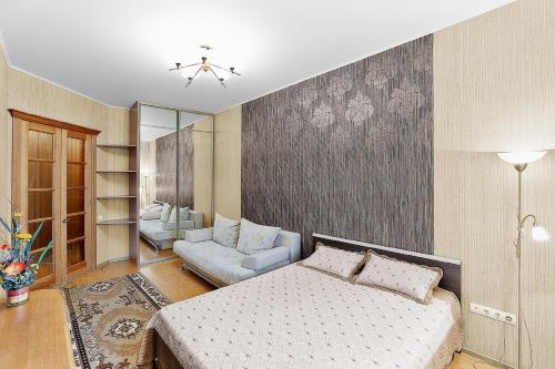 Гостиная зона в Apartment on Kartashova 3