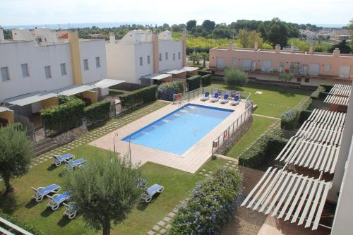A view of the pool at Hotur Via Augusta or nearby