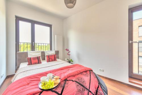 Lova arba lovos apgyvendinimo įstaigoje P&O Apartments Liwiecka