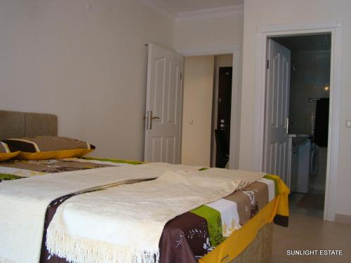 Ein Bett oder Betten in einem Zimmer der Unterkunft Banana Garden A