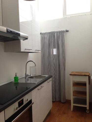 Küche/Küchenzeile in der Unterkunft Appartamentino Vittorio Emanuele