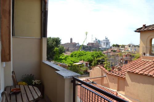 A balcony or terrace at Studio Cardello Colosseum