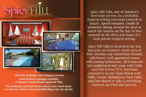 Spicy Hill Villa