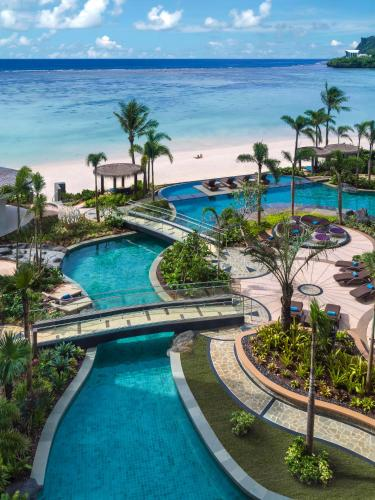 A view of the pool at Dusit Thani Guam Resort or nearby