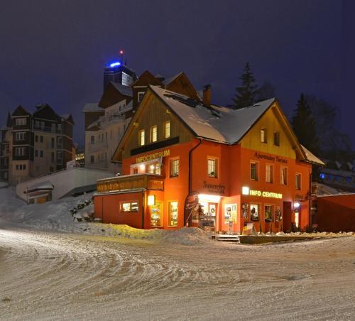 Apartmá Turista, Pec pod Sněžkou v zimě