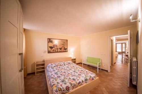 Gulta vai gultas numurā naktsmītnē Appartamento I Fraticelli
