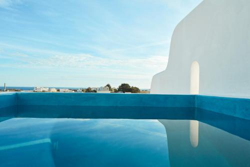The swimming pool at or near Orabel Suites Santorini
