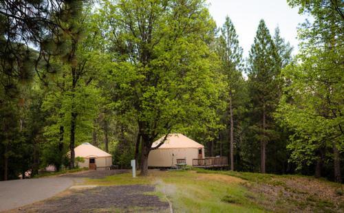 Resort Village Yosemite Lakes Hillside Yurt 1 Harden Flat CA