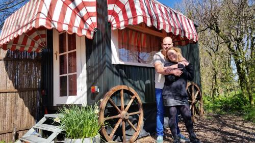 Gypsy wagons Hellevoetsluis