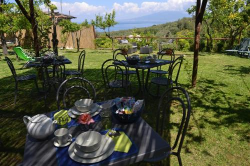 A restaurant or other place to eat at Villa Rosmary