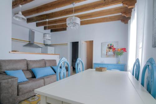 A seating area at Apartmento Chic