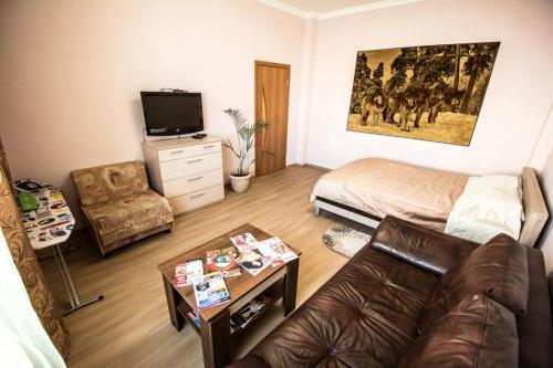 Гостиная зона в Gorkavich Apartment