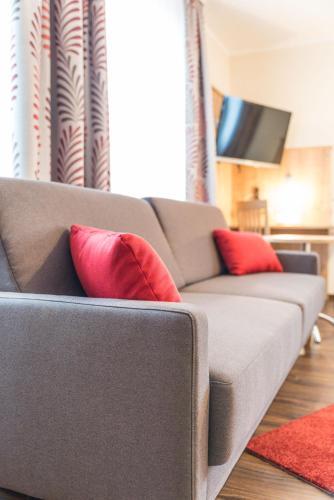 Lounge oder Bar in der Unterkunft Hotel Gasthof Hainzinger