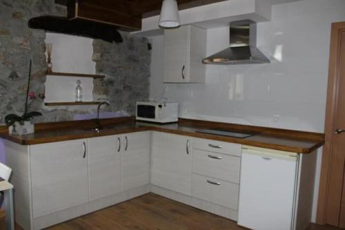 A kitchen or kitchenette at Apartment in Ampuero Cantabria 101236
