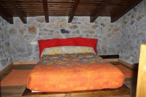 A bed or beds in a room at Apartment in Ampuero Cantabria 101236