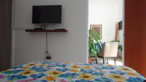 Una habitación en Apartamento Edificio Familia Klein