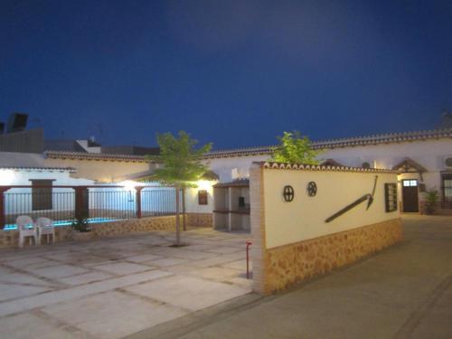 Ein Balkon oder eine Terrasse in der Unterkunft Apartamentos Venta Don Quijote