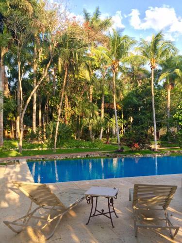Un patio o zona al aire libre en Hacienda Chichen Resort and Yaxkin Spa