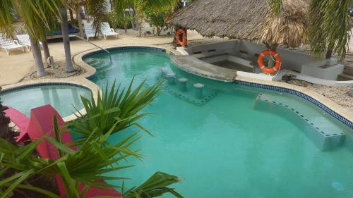 A view of the pool at AquaVilla Bonaire or nearby