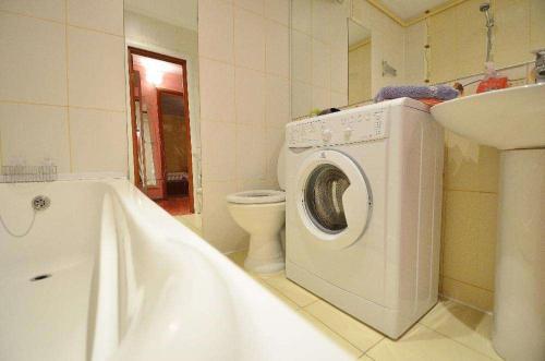 Ванная комната в Apartment Style on Sobornaya Street