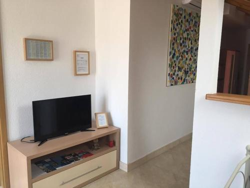 A television and/or entertainment center at Ballerina Apartment